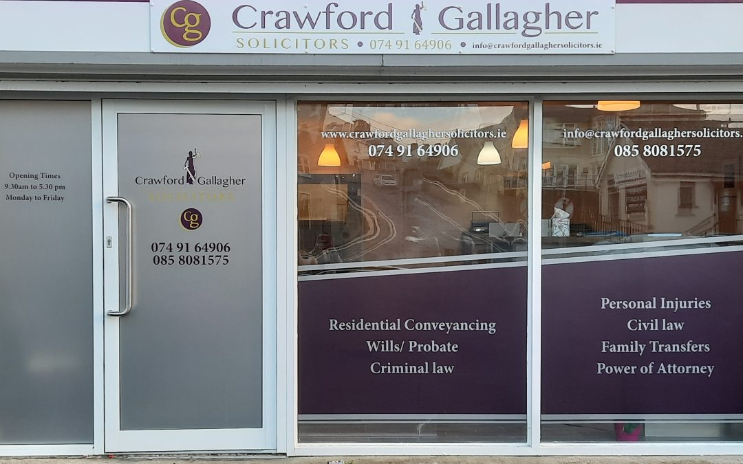 New Solicitors Office on High Road Beside Letterkenny Courthouse